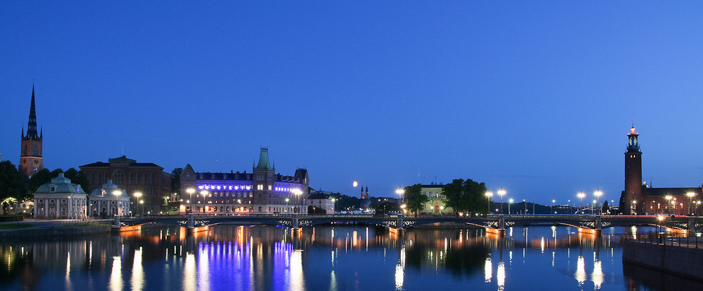 Photo of Stockholm at dusk