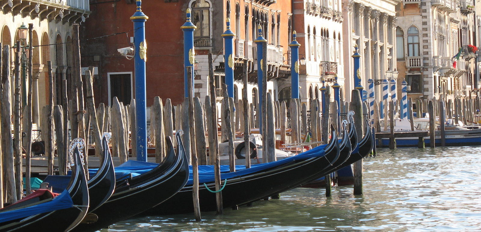 photo of Gondolas in Venice